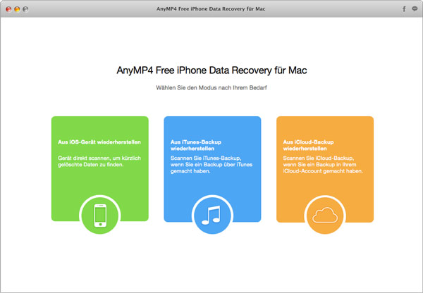 free iphone data recovery free iphone data recovery f 252 r mac anymp4 14150