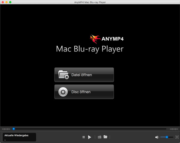 Die Mac Player-Software starten