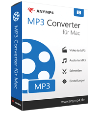 AnyMP4 MP3 Converter für Mac