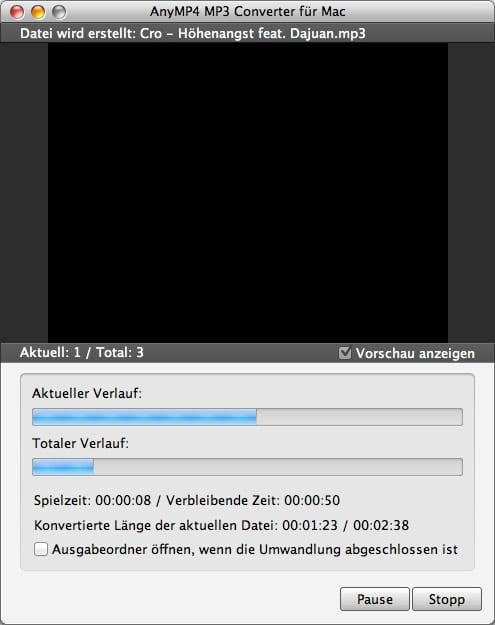 Umwandeln Mp4 Zu Mp3 Mac